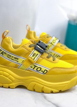Желтые кроссы новиночка