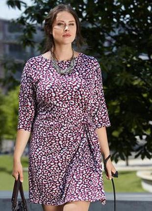 Трикотажное платье tcm tchibo германия на наш 58/60
