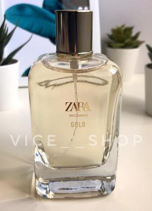 Zara gold духи парфюмерия туалетная вода