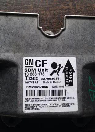 Блок управления AirBag Opel Zafira 13288173 Temic 327963935