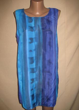 Вискозная блуза long tall sally р-р14