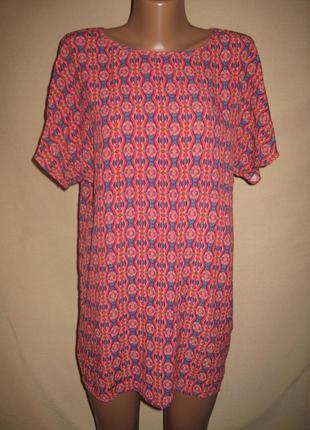 Вискозная блуза forever21 р-рs