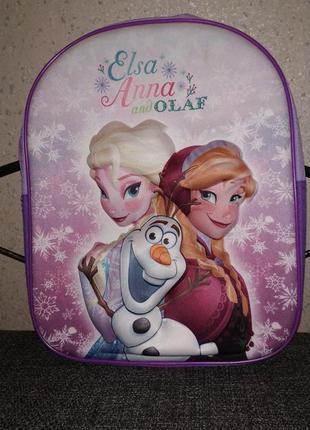 Детский 3d рюкзак анна и эльза холодное сердце