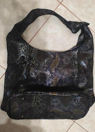 Кожаная лазерная женская сумка 2020 из натуральной кожи лазерн...