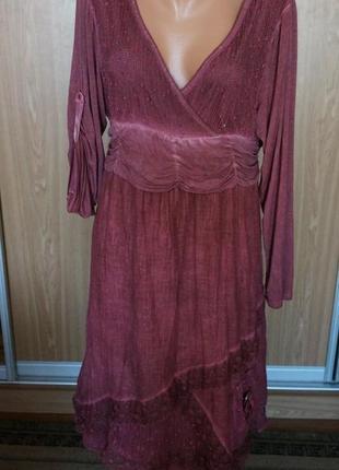 Интересное платье в стиле бохо
