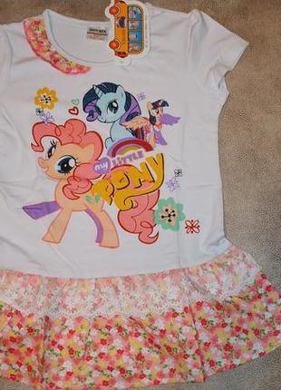 Платье-туника мой маленький пони nova