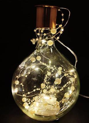 H&m home ваза скляна стеклянная