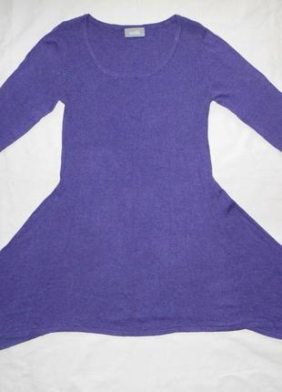Нежное теплое трикотажное платье wallis