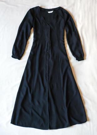 #розвантажуюсь длинное черное платье с длинным рукавом sparkz,...
