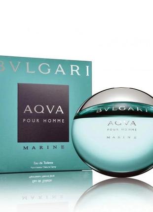 Bvlgari aqva pour homme marine туалетная вода 5мл миниатюра
