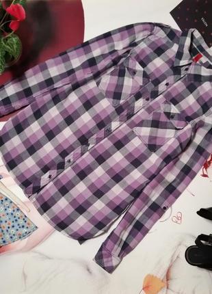 Рубашка h&m, 100% хлопок, размер s/m