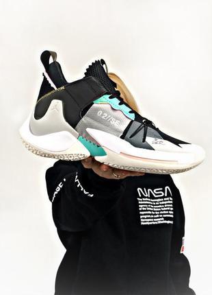 Nike jordan why not zer 0.2 кросовки мужские найк джордан, бас...