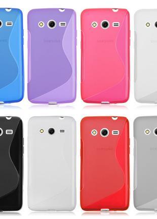 S-line TPU Силикон чехол Galaxy Core 2 G3556D G355