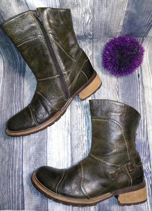 Полусапоги ботинки mexx мужские кожаные стильные 41 размер