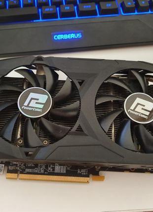 Игровая PowerColor Radeon RX 580 Red Dragon AXRX 580 8GBD5-3DH...