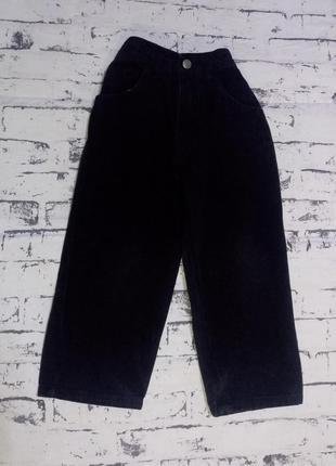 Черные джинсы.4-5 лет