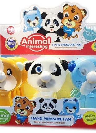Детский вентилятор 15 см игрушка Животные