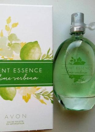 Туалетная  вода scent essence lime verbena 30 мл
