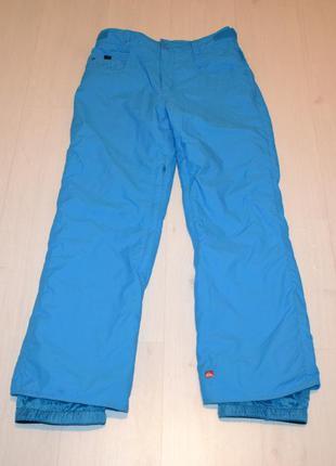Лыжные штаны, горнолыжные штаны фирма quiksilver р. s-м