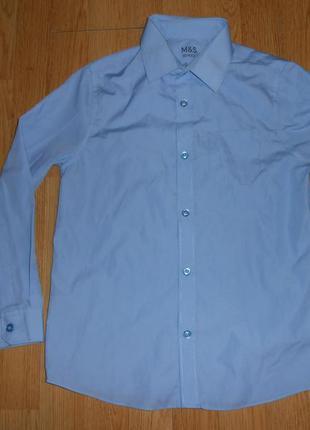 Рубашка на мальчика 9-10 лет