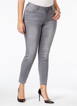 Серые джинсы,штаны,скини,батал, большого размера