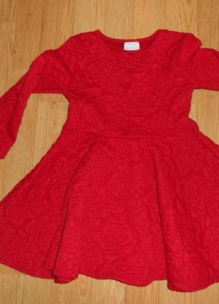 Платье на девочку 3-4 года