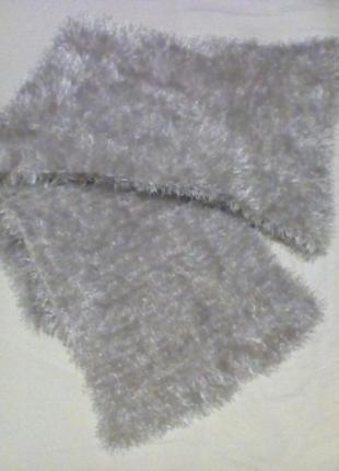 Вязаный шарф, ручная работа