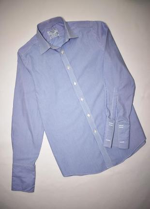 Charles tyrwhitt рубашка длинный рукав на запонках хлопок котт...