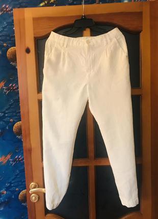 Лляные брюки от massimo dutti