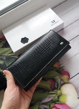 Женский кожаный кошелек из натуральной кожи шкіряний гаманець
