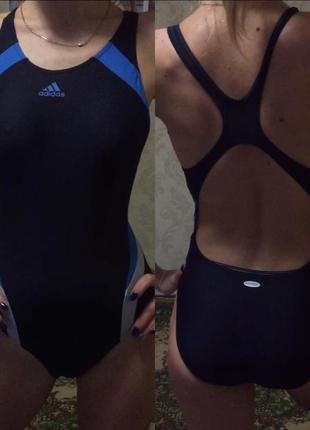Оригинальный купальник adidas спортивный купальник