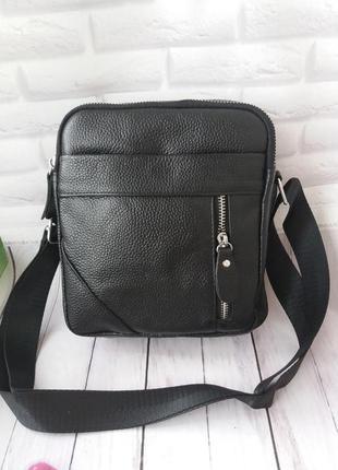 Мужская кожаная сумка. чоловіча шкіряна сумочка