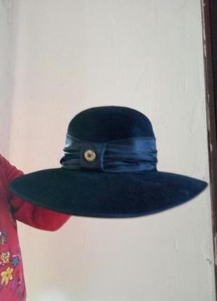 Стильная женская фетровая шляпа