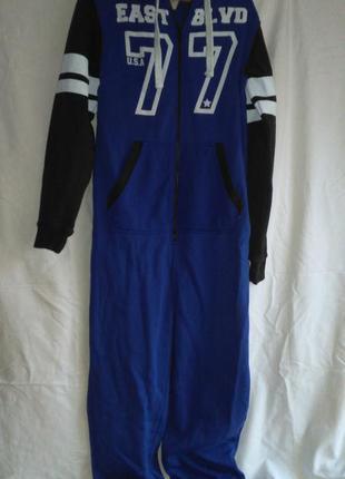 Классная пижама комбез тёплая  мужская  ( made in pakistan )