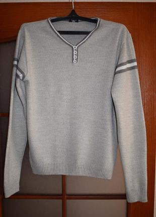 Стильный мужской свитер taiko