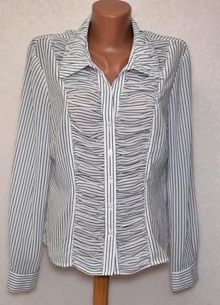 Оригинальная блуза рубашка precis, размер м-л