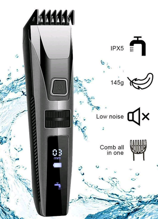 Профессиональная машинка для стрижки волос Gemei GM-802