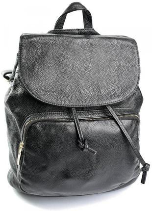 Мужской кожаный рюкзак портфель чоловічий шкіряний