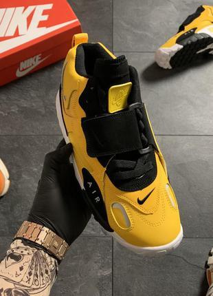 Nike air max speed turf yellow black
