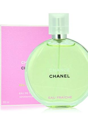 Женские духи Chanel Chance Eau Fraiche 100 мл Турция Лицензия