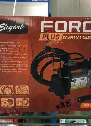 Компрессор автомобильный (насос) Elegant Force Plus 100 030