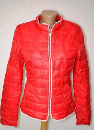 Куртка ветровка красного цвета синтепон s