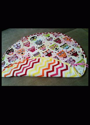 Коврик -мешочек Мешочек для игрушек Игровой коврик