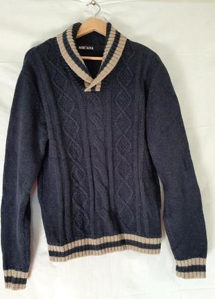 Шерстяной свитер джемпер nirvana