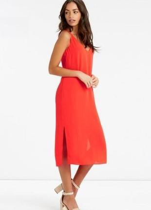 Качественное платье с красивым вырезом на спине oasis, размер ...