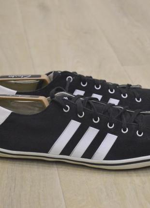 Adidas neo мужские кеды кроссовки черные оригинал