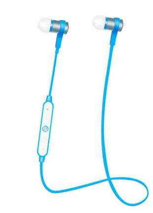 Спортивные беспроводные наушники bluetooth с пультом управления и