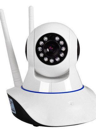 Беспроводная IP смарт камера Smart NET с панорамным обзором Wi Fi