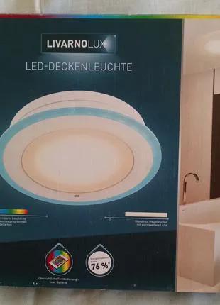 Продам Светильник потолочный Livarno Lux с пультом, новый  из Гер