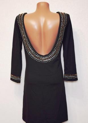 Вечернее платье с открытой спинкой lou-lou